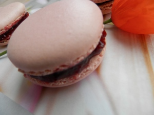 macarons cerise